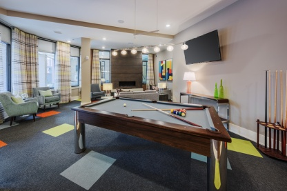 Clubhouse with Billiard