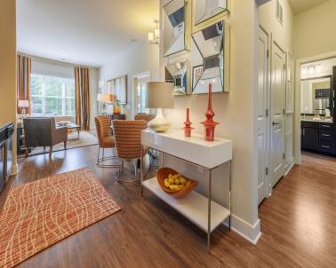 1 Bedroom Model Entryway