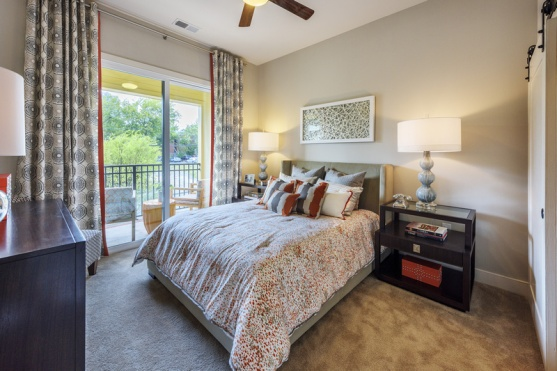 1 Bedroom Model Bedroom