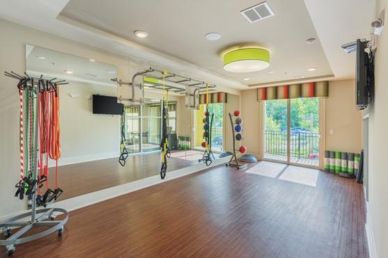 Yoga Studio with TRX Machine