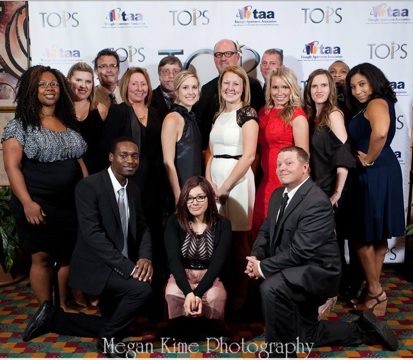 Nothing Like Celebrating the TOPS – Triangle Apartment Association Awards