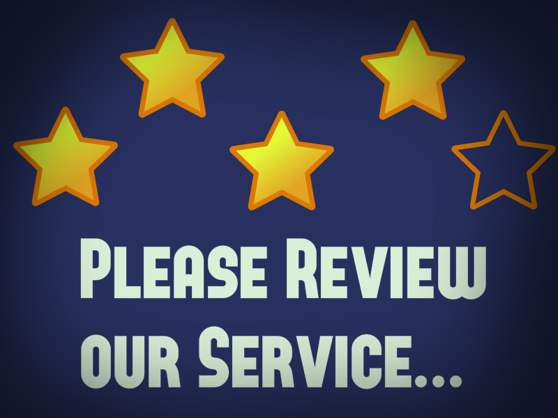 Ratings Wars – Congrats to our Teams for Providing Excellent CustomerService